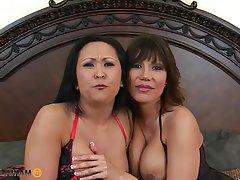 Asian, Big Boobs, Mature, Pornstar, Threesome