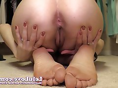 Amateur, Brunette, Close Up, Foot Fetish