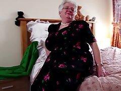 Big Boobs, Granny, Mature, MILF, Stockings