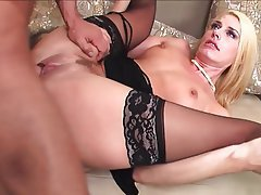 Blonde, Lingerie, Mature, MILF