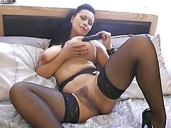 British, Mature, Stockings