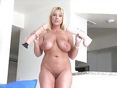Blonde, Masturbation, Mature, Orgasm