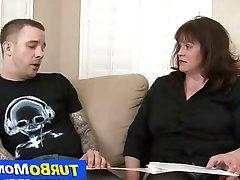 Blowjob, Hardcore, Mature, Stockings