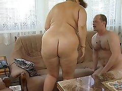 BBW, Big Boobs, Blowjob, Granny