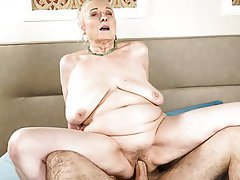 BBW, Old and Young, Granny, Saggy Tits, Teen