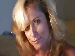 Amateur, Blonde, Facial, Mature, MILF