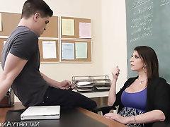 Asian, Big Ass, Big Cock, Big Tits, Stockings