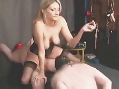 BDSM, Blonde, Mature, Cumshot