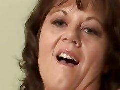 Lingerie, Masturbation, Mature, MILF, Stockings