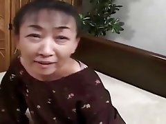 Facial, Granny, Hairy, Japanese