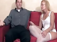 Blonde, Creampie, Mature, Old and Young
