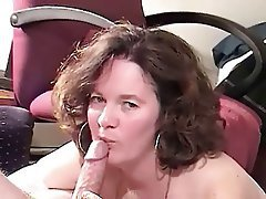 Amateur, Blowjob, Facial, Lingerie