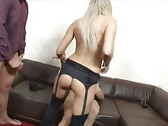 Anal, Blowjob, Cumshot, Double Penetration, Threesome