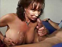 Blowjob, Mature, Brunette